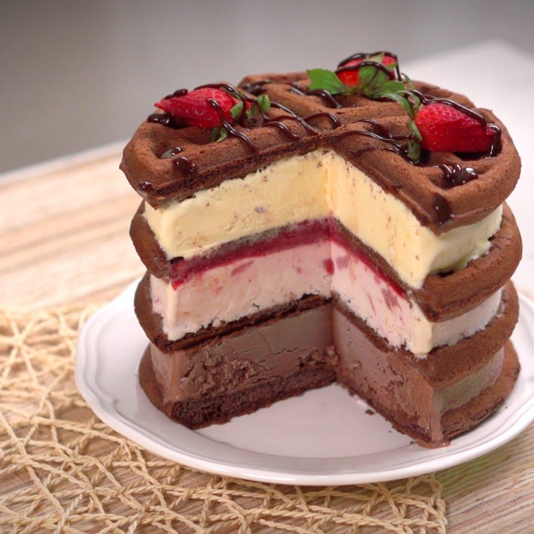 Необычная и вкусная начинка для торта рецепт с фото