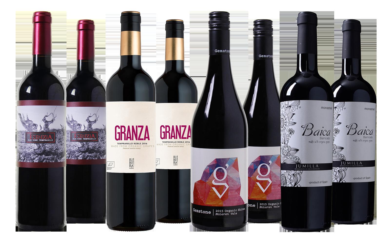 Biologisch Wild Wijnpakket (Organic)